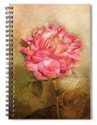 October Rose Spiral Notebook