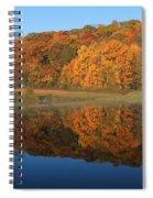 October Scene Spiral Notebook