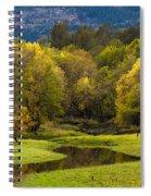 October Serenity Spiral Notebook