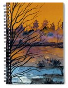 October Sky Spiral Notebook
