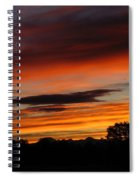 October's Colorful Sunrise Spiral Notebook