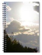 October's Radiance 2012 Spiral Notebook