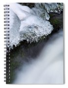 Of Ice And Water Spiral Notebook