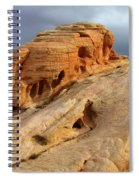 Of Light And Stone Spiral Notebook