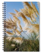 Of Sun And Sky And Wind Spiral Notebook