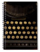 Of Times Gone By Spiral Notebook