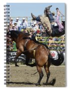Rodeo Off In A Flash Spiral Notebook