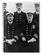 Officers Of The Titanic, 1912 Spiral Notebook