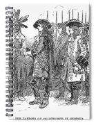 Oglethorpe At Savannah Spiral Notebook