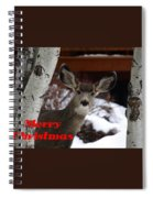 Oh Deer Merry Christmas Spiral Notebook