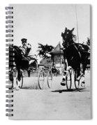 Ohio: Horse Race, 1904 Spiral Notebook