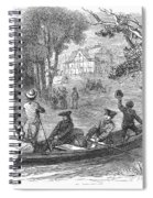 Ohio River: Emigrants Spiral Notebook
