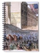 Ohio: Union Parade, 1861 Spiral Notebook