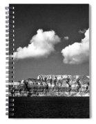 Oia Greece Spiral Notebook