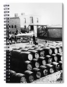 Oil: Montana, 1880 Spiral Notebook