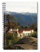 Ojai With Snow Spiral Notebook