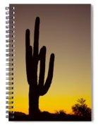 Okay Sunrise Spiral Notebook