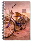 Ol' Bike Spiral Notebook