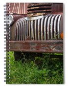 Old Abandoned Pickup Truck Spiral Notebook