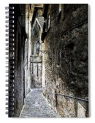 old alley in Italy Spiral Notebook