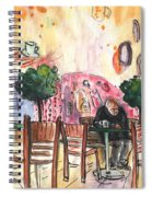 Old And Lonely In Cyprus 04 Spiral Notebook