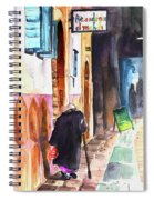 Old And Lonely In Morocco 03 Spiral Notebook
