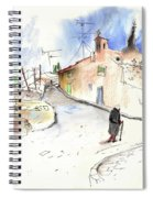 Old And Lonely In Spain 02 Spiral Notebook