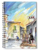 Old And Lonely In Spain 03 Spiral Notebook