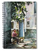 Old And Lonely In Spain 08 Spiral Notebook