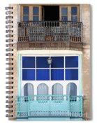 Old And New With Same View Spiral Notebook