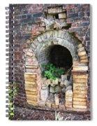 Old Antique Brick Kiln Fire Box Spiral Notebook