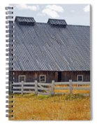 Old Barn And Fence Spiral Notebook