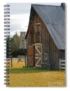 Old Barn Doors Spiral Notebook