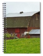 Old Barn On 264th. Street Spiral Notebook