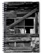 Old Barn Window Spiral Notebook