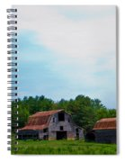 Old Barns Spiral Notebook