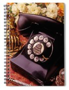 Old Bell Telephone Spiral Notebook