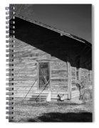 Old Belle Mina Railroad Station Spiral Notebook