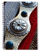 Old Belts Spiral Notebook