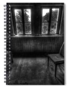 Old Black And White Tv Spiral Notebook