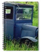 Old Blue Ford Truck Spiral Notebook