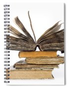 Old Books Spiral Notebook