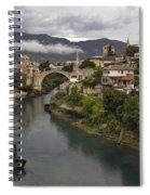 Old Bridge Of Mostar Spiral Notebook