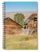 Old Building Woodruff Utah Spiral Notebook