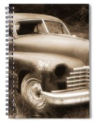 Old Caddy-sepia Spiral Notebook