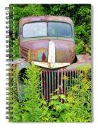 Old Car Grave Yard Spiral Notebook