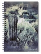 Old Cemetery On A Hill Spiral Notebook