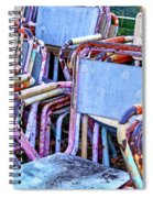 Old Chairs Spiral Notebook