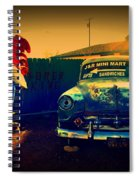 Old Chevrolet On Route 66 Spiral Notebook