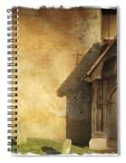 Old Church Door Spiral Notebook